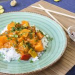 Vegetables-curry-sauce-jasmine-rice