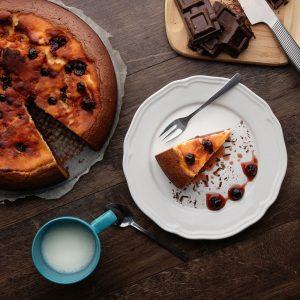 Cheesecake cherry brownies