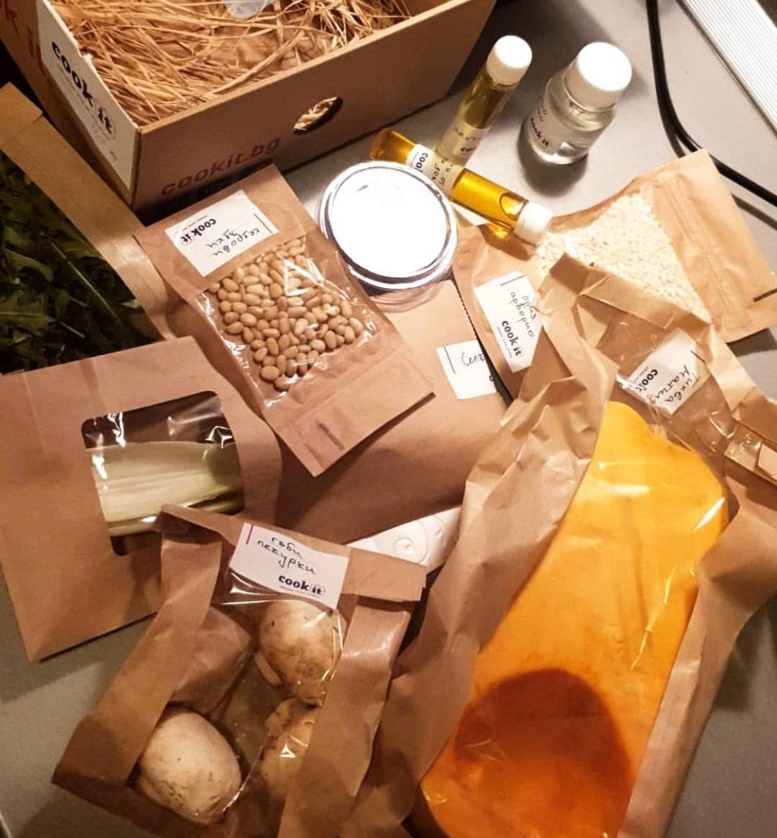 ризото продукти