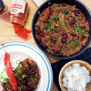 Chile con carne from Chilli Hills